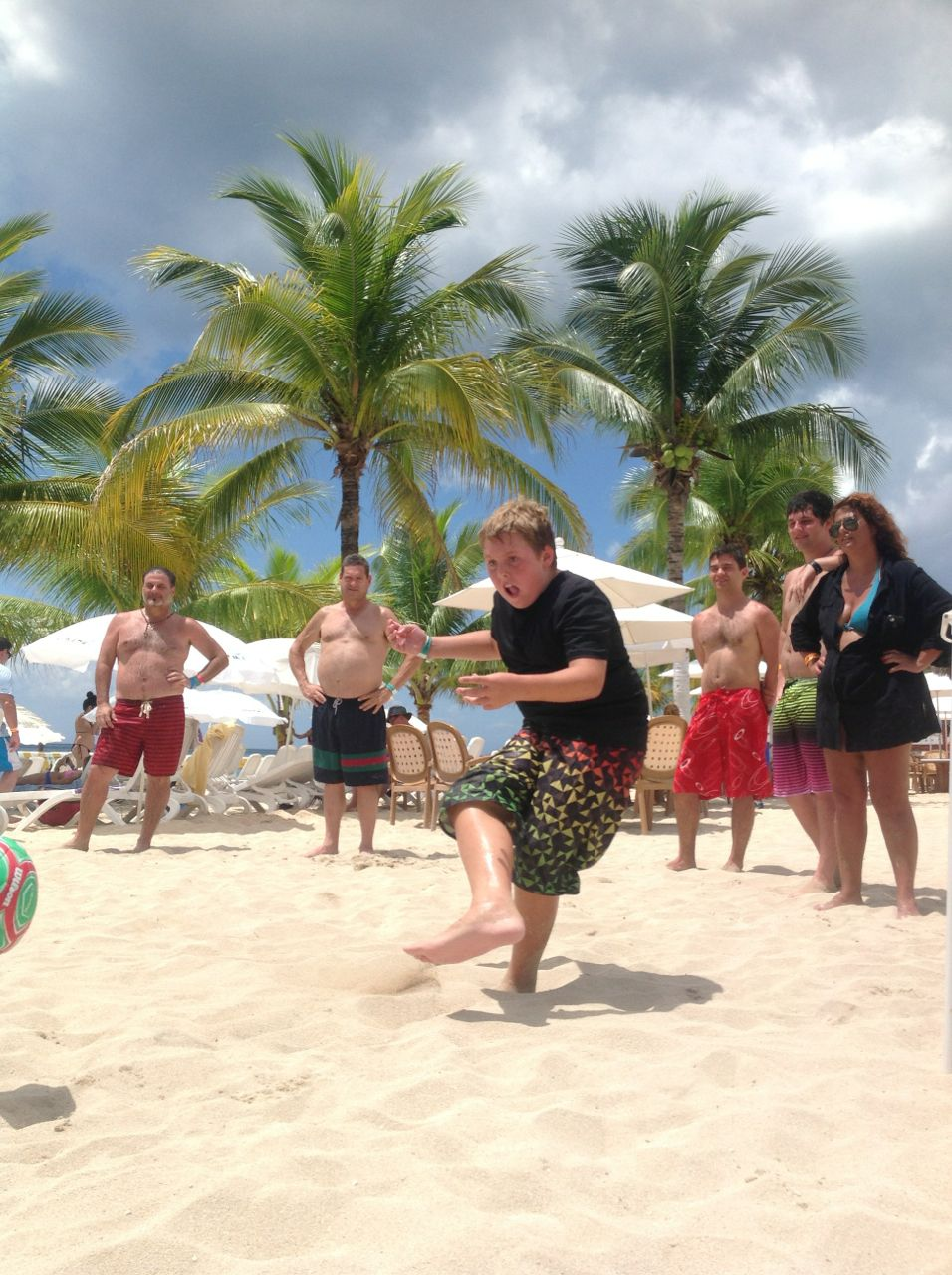 #Beach #Games at #Cozumel #Playa Mia