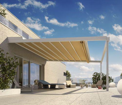 Rivera Pergola Überdachung Sonnenschutz Pinterest - markisen fur balkon design ideen