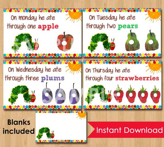 Very hungry caterpillar food tent cards labels instant download very hungry caterpillar food tent cards labels instant download printable for party buffet or table bookmarktalkfo Image collections