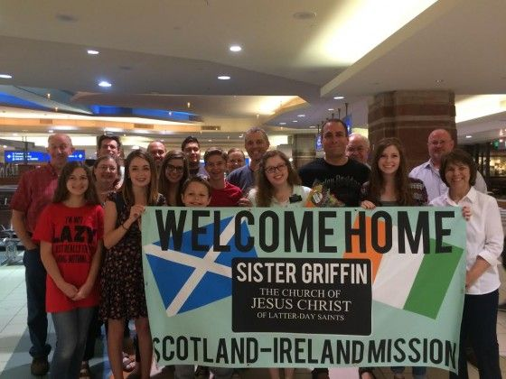 Welcome Home Banner for Sister Missionary | www signs com