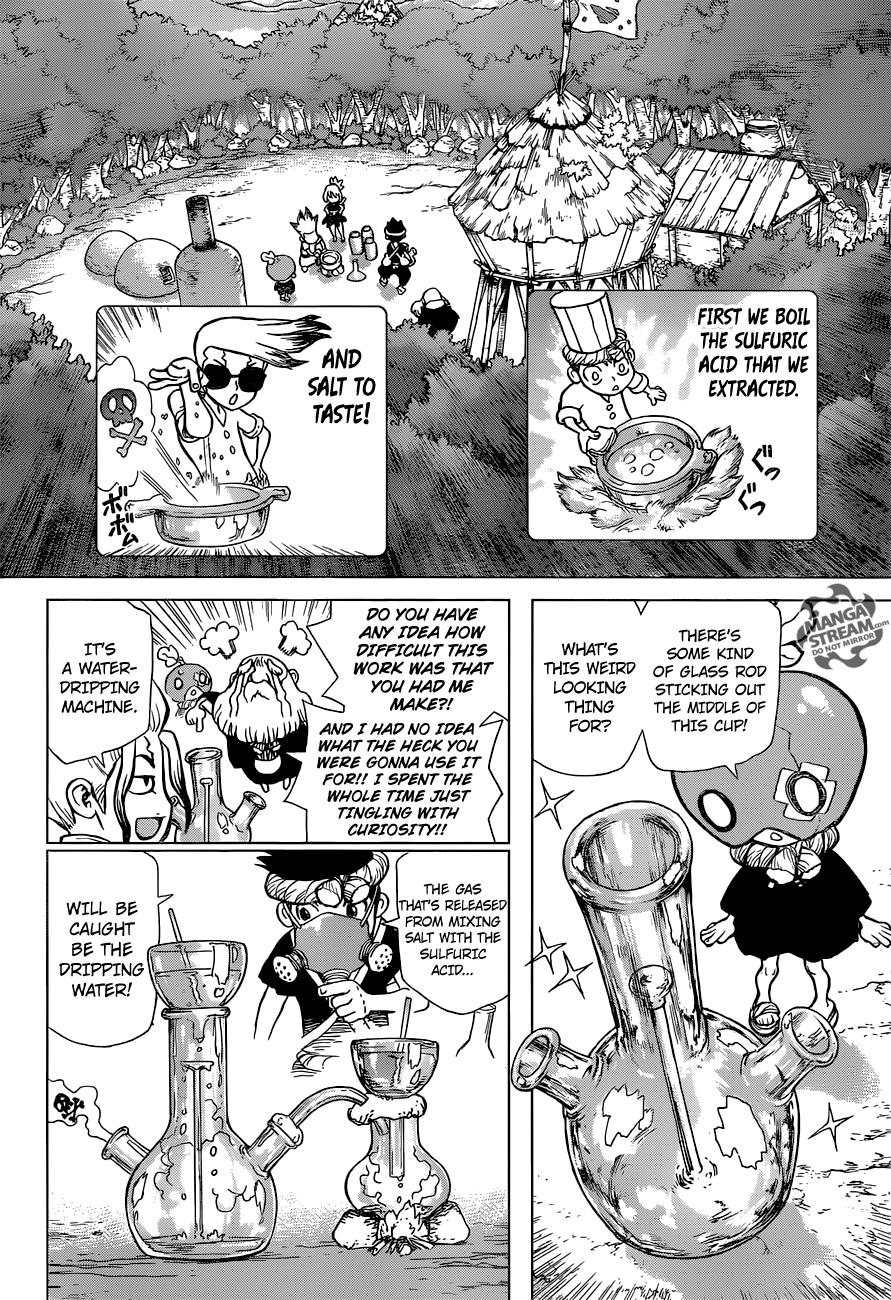 Dr Stone 033 Page 5 Manga Stream Good Manga Chapter 33 Doctor Stone