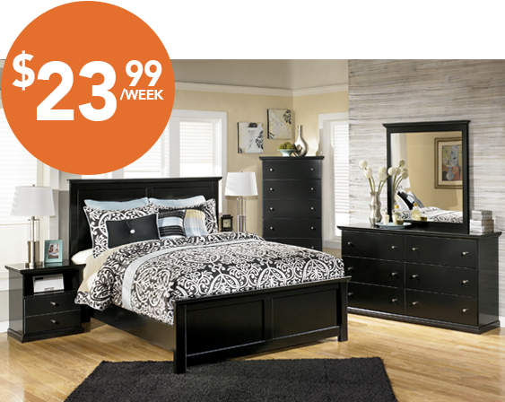 Majik Rent To Own Ashley Maribel Bedroom Set Id:B138