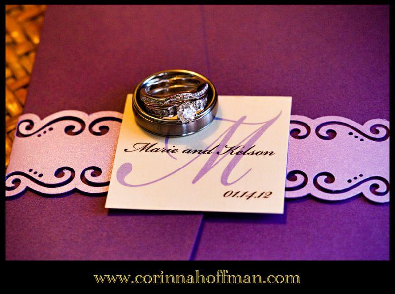 Wedding Rings With Purple Wedding Invitations Purple Wedding Invitations Wedding Purple Wedding