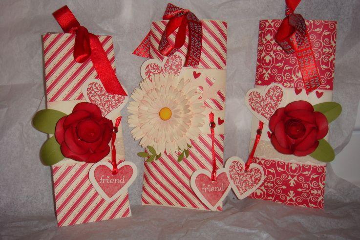 Stampin39 Up Treat Holder Elizabeth Barnes Valentine Paper