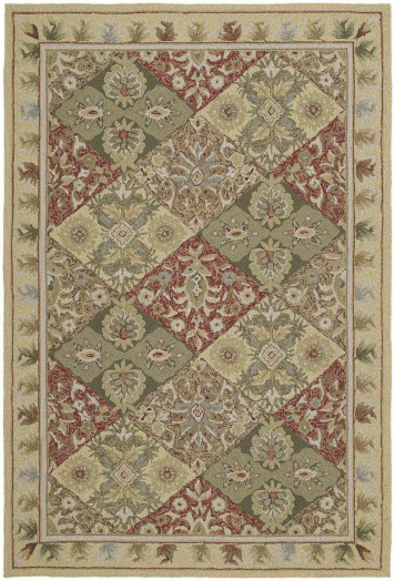 Home And Porch Handmade Rectangle Area Rug - Linen (2' x 3') | Kaleen Rugs | Home Gallery Stores
