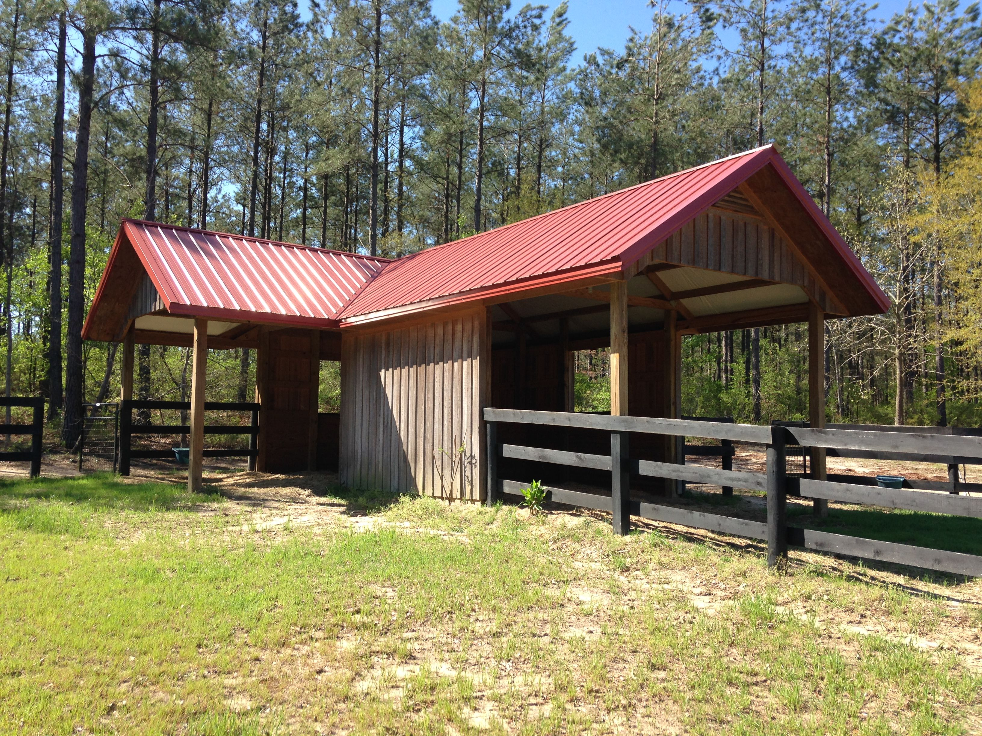 Run In Sheds And Barns : Run in shed elitebarns barns pinterest barn horse