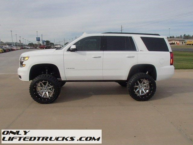 New 2016 Lifted Chevrolet Tahoe 4wd Lt 6 Inch Fabtech Lift