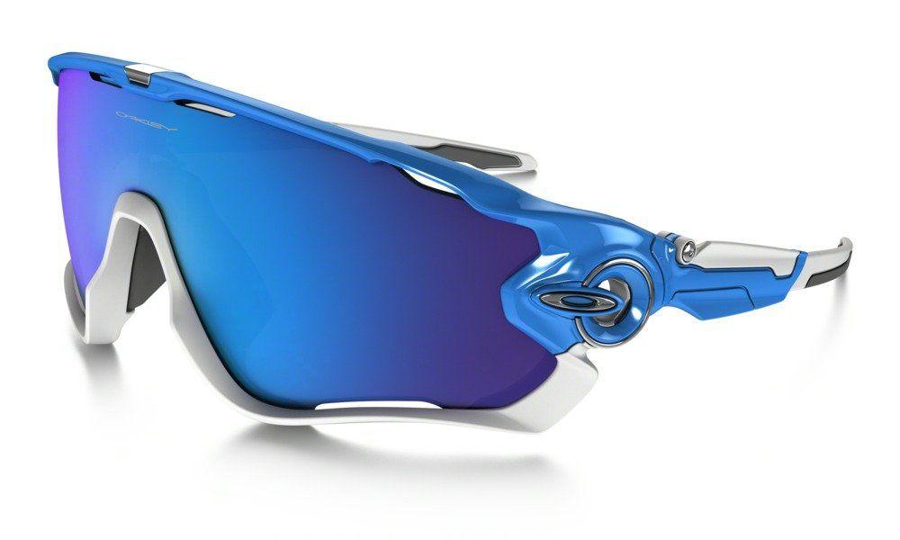 e296959548 Oakley Men s Jawbreaker 0OO9290 Non-polarized Iridium Rectangular Sunglasses