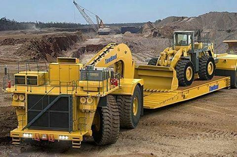 ✖☆✖Cat towhaul with a loader on wagon Heavy Equipment 2 - dragline operator sample resume