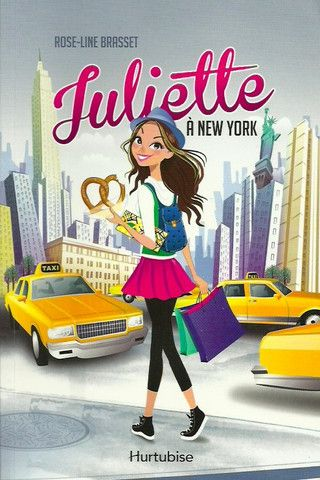 Brasset Rose Line Juliette A New York En 2019 Livre Ado