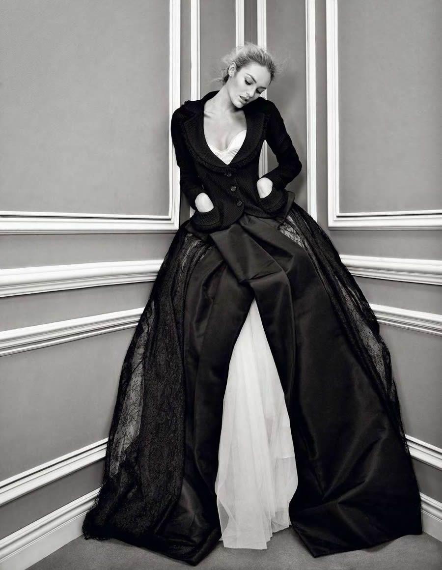 Candice Swanepoel | Patrick Demarchelier #photography | V Magazine Winter 2011