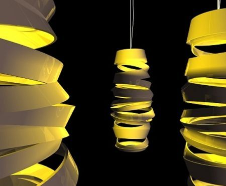 Modern Swing Pendant Light By Monochro Design Studio Amazing Design