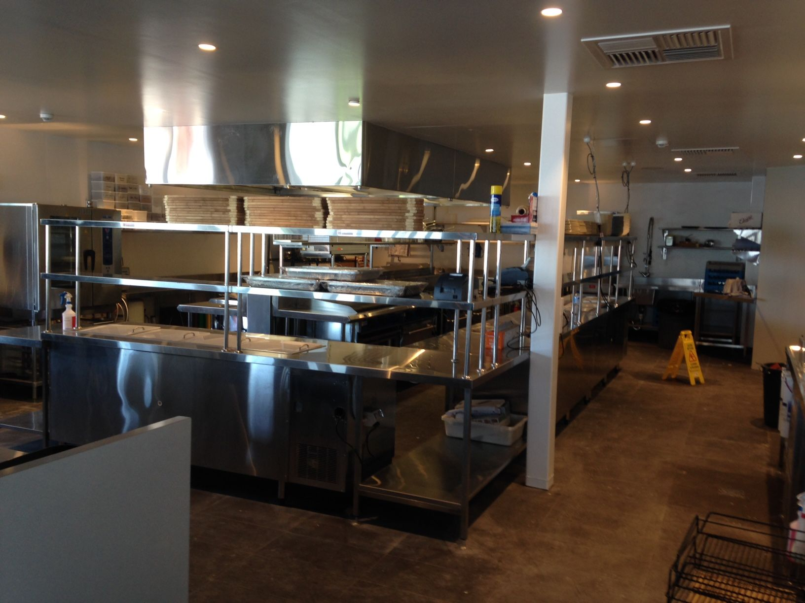 Bold features shelving Gwelup Custom kitchens design