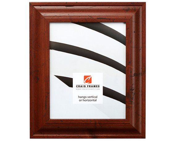 Craig Frames 10x13 Inch Distressed Walnut Brown Picture Frame 2 Inch Contemporary Upscale 760041013 Brown Picture Frames Frame Picture Frames