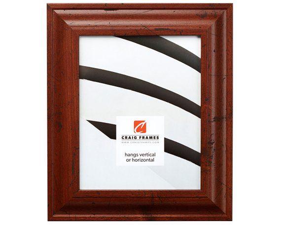Craig Frames 10x13 Inch Distressed Walnut Brown Picture Frame 2