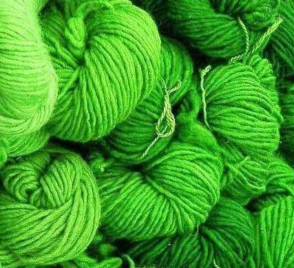 Le vert en pelote... en colère !