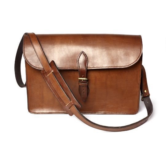 Cuero | Leather The Huntspill Oak Bark Leather Satchel by The Merchant Fox