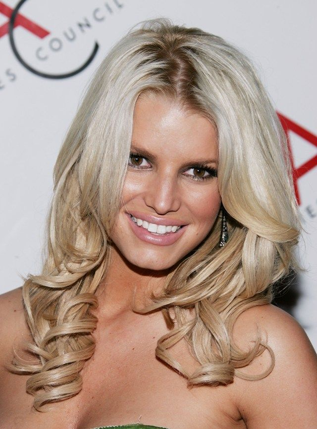 Jessica Simpson S Blonde Hair