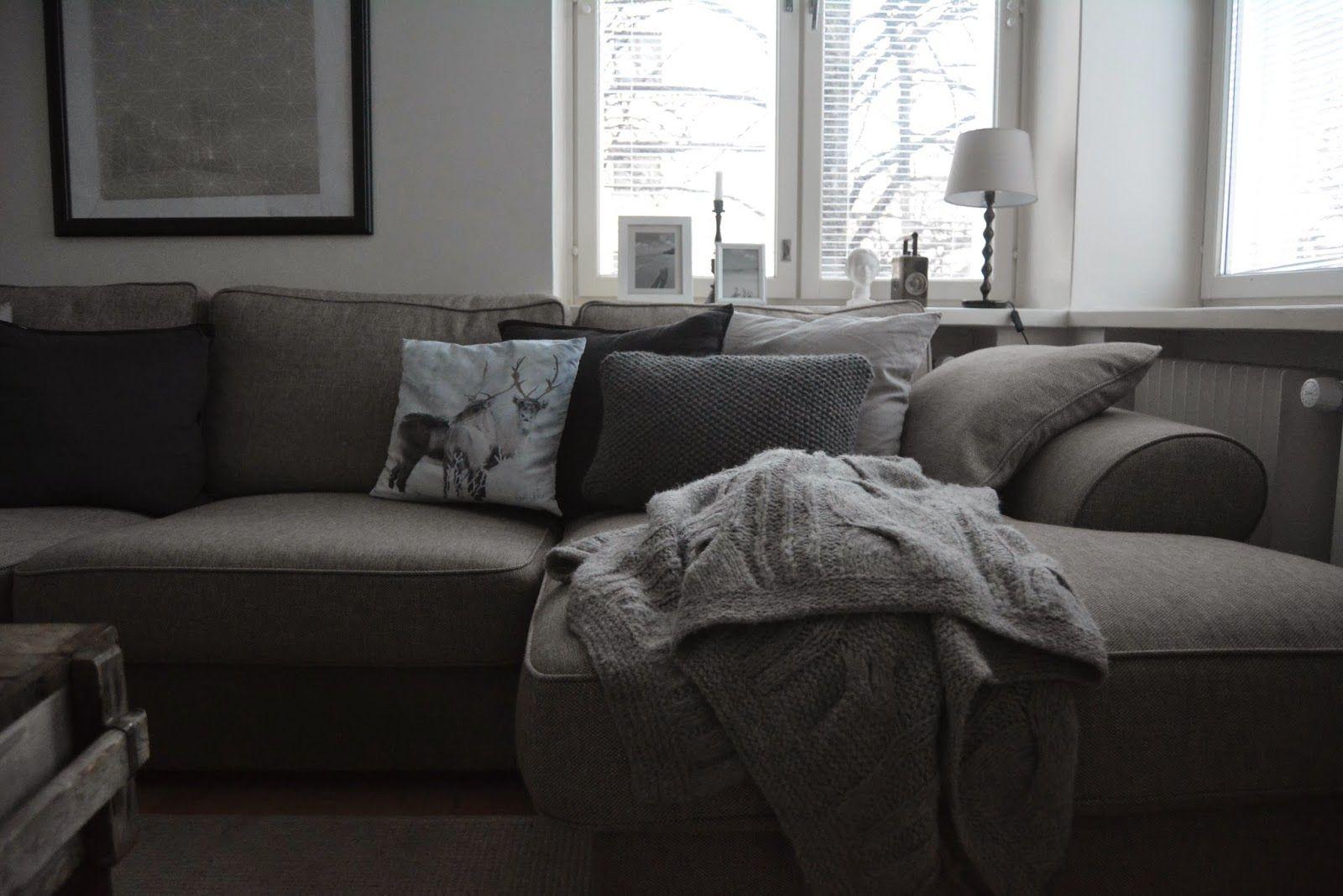 Maailman tällä laidalla: DIY tyyny, neulonta