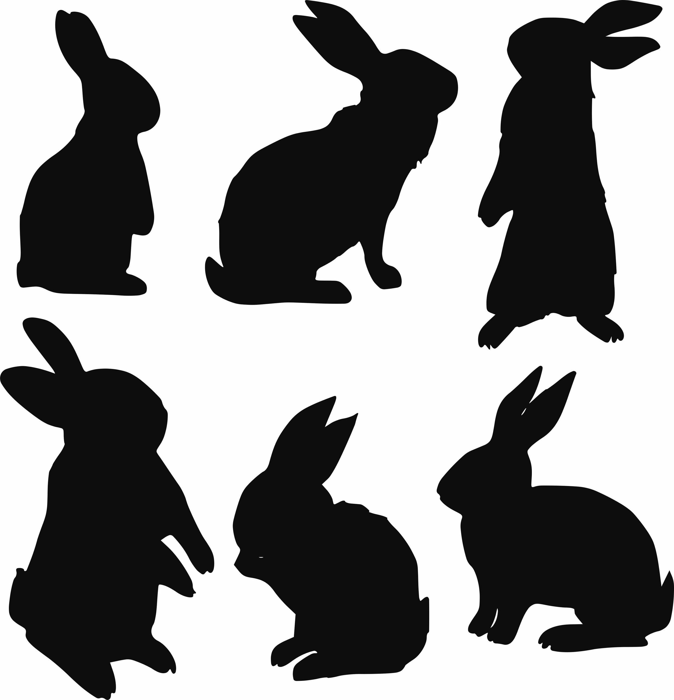 Pin By Katalin Asztalos On Husvet Rabbit Silhouette Bunny Silhouette Animal Silhouette