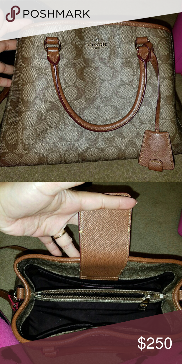 a1af8c8efaea Original coach bag Use once No scratches in great condition comes with the  bag .price negotiable. Coach Bags Satchels