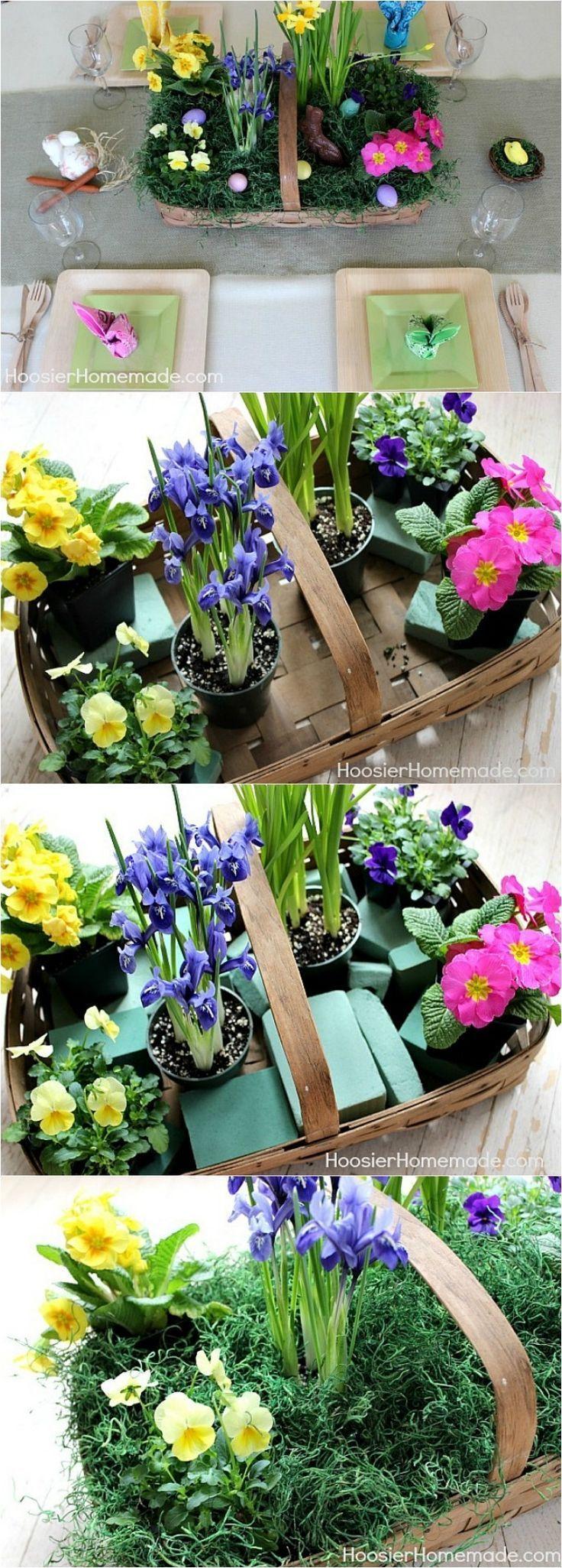 easter floral centerpieces diy
