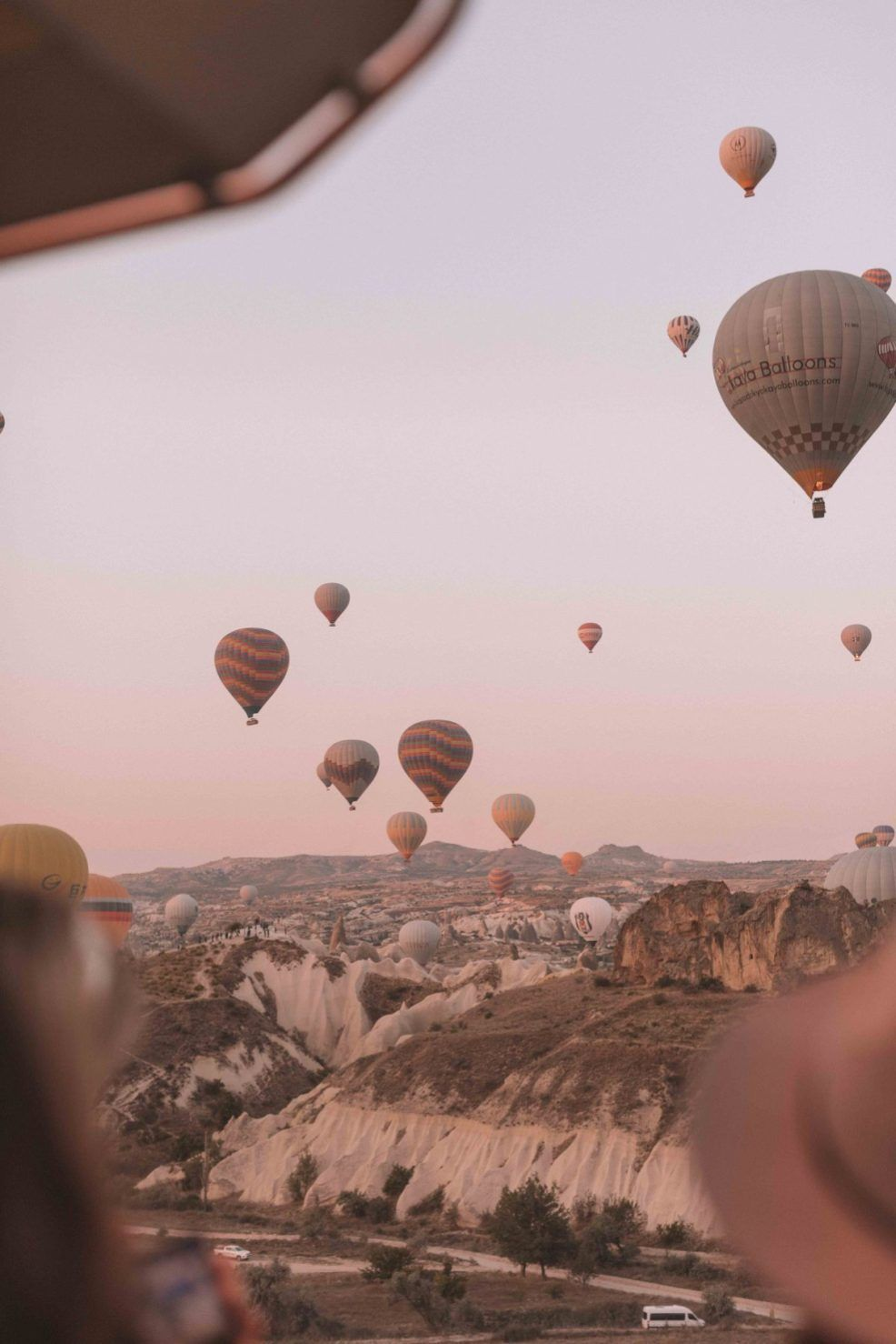 Hot Air Ballooning in Cappadocia, Turkey | Twin Pe