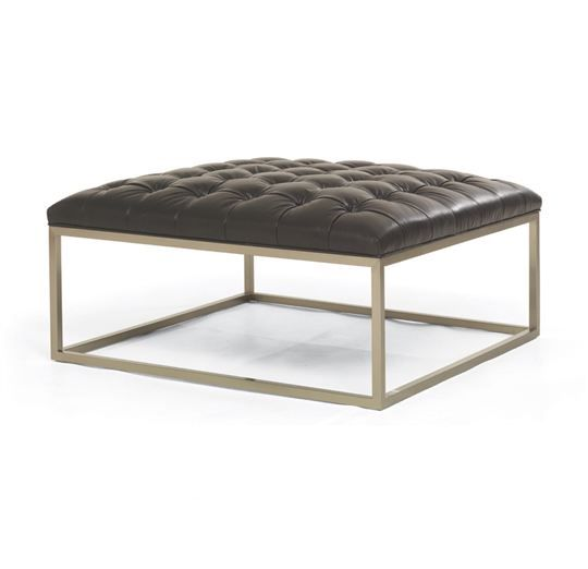 Mitchell Gold + Bob Williams - Hines Square Ottoman | Living Room ...