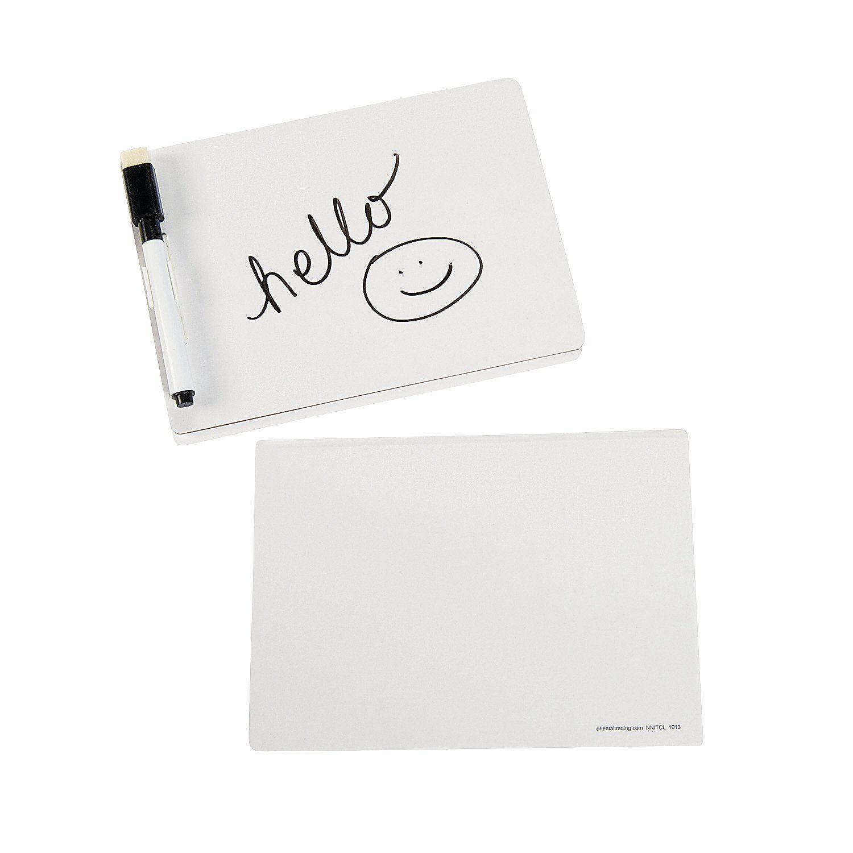 Mini Dry Erase Boards Oriental Trading In 2021 Dry Erase Board Dry Erase Organize Craft Supplies