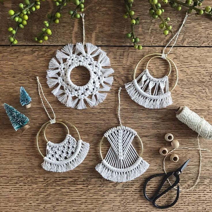 "Photo of Hitch + Cord on Instagram: ""(Ornaments now available online!) The past few holiday seasons have been a blur so I made a promise to myself that I would actually…"""