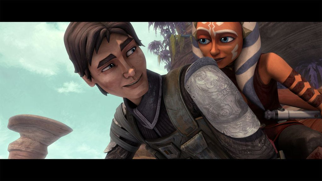 Ahsoka And Lux Season 5 Ok I Love This Moment So Much Lux Is Like