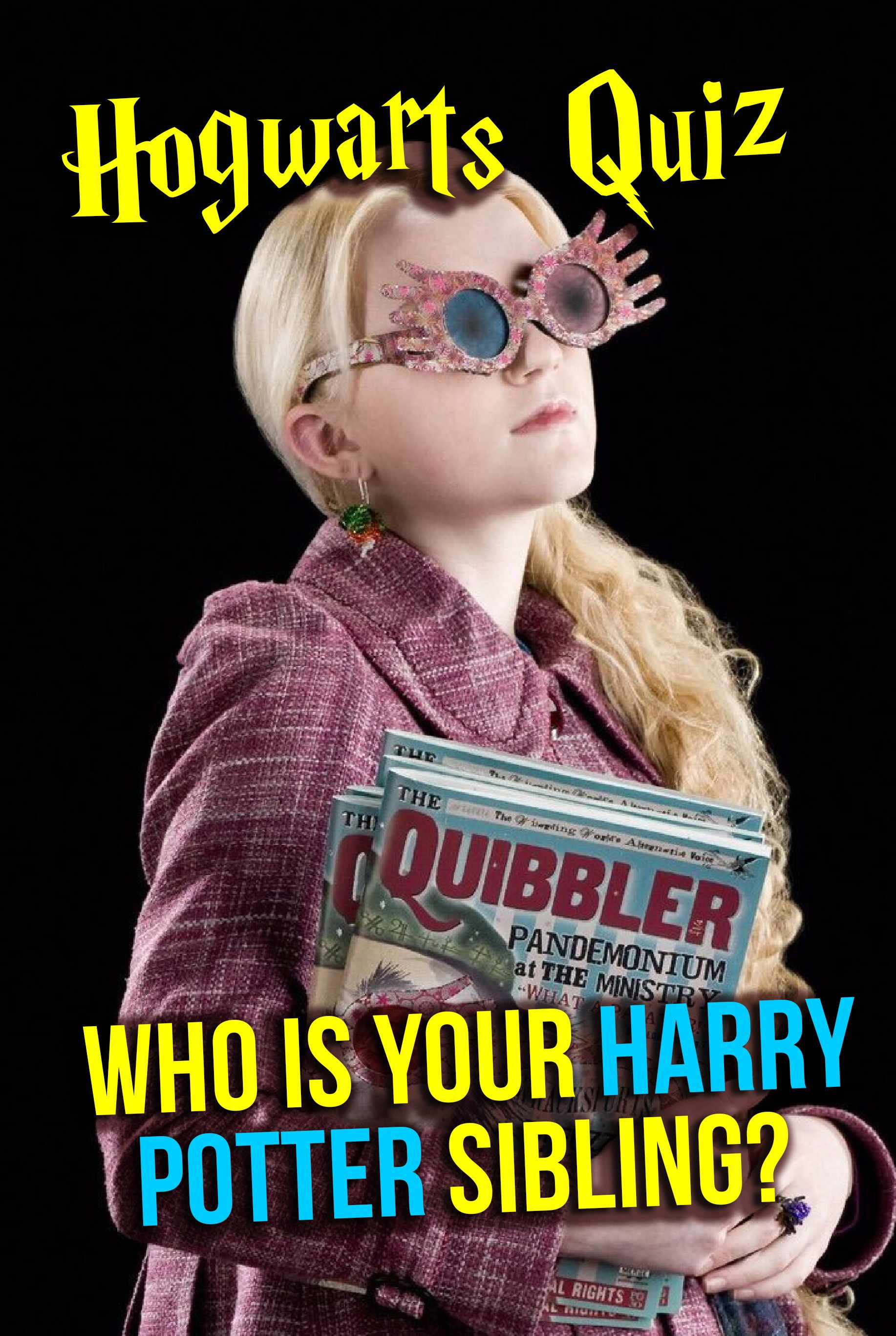 Hogwarts Quiz Who Is Your Harry Potter Sibling In 2019