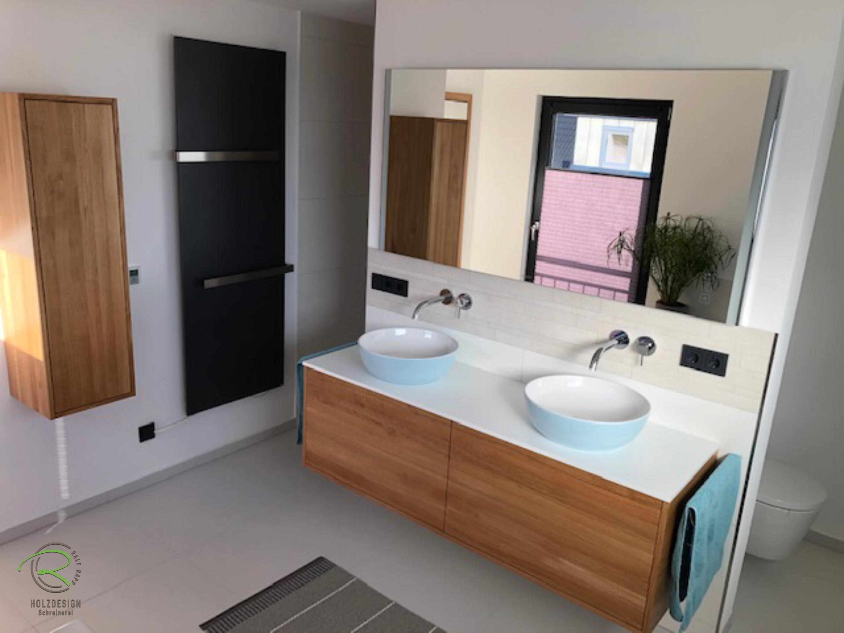 Griffloser Badschrank Waschtischunterschrank Mit Wasserfester
