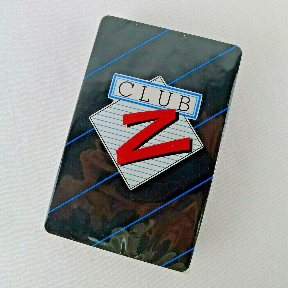 Zeller's Club Z Playing Cards Unused Sealed Defunct
