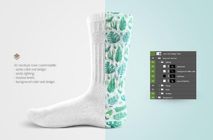 17 socks mockup template psd design download mockup templates psd mockup sock template by rebrandy maxwellsz