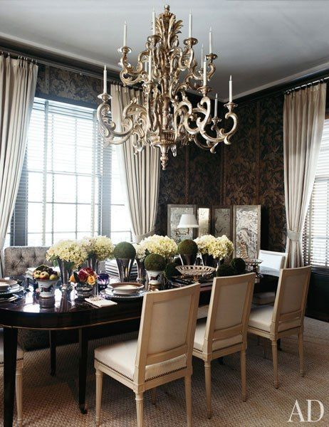 Dark Walls Light Curtains Gold Accent Living Room Blinds