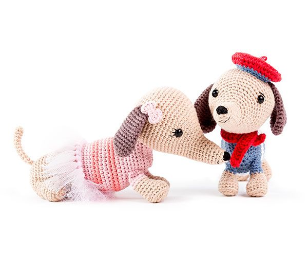 The Little Doodahs Wilbur and Bertie amigurumi pattern ... | 500x600