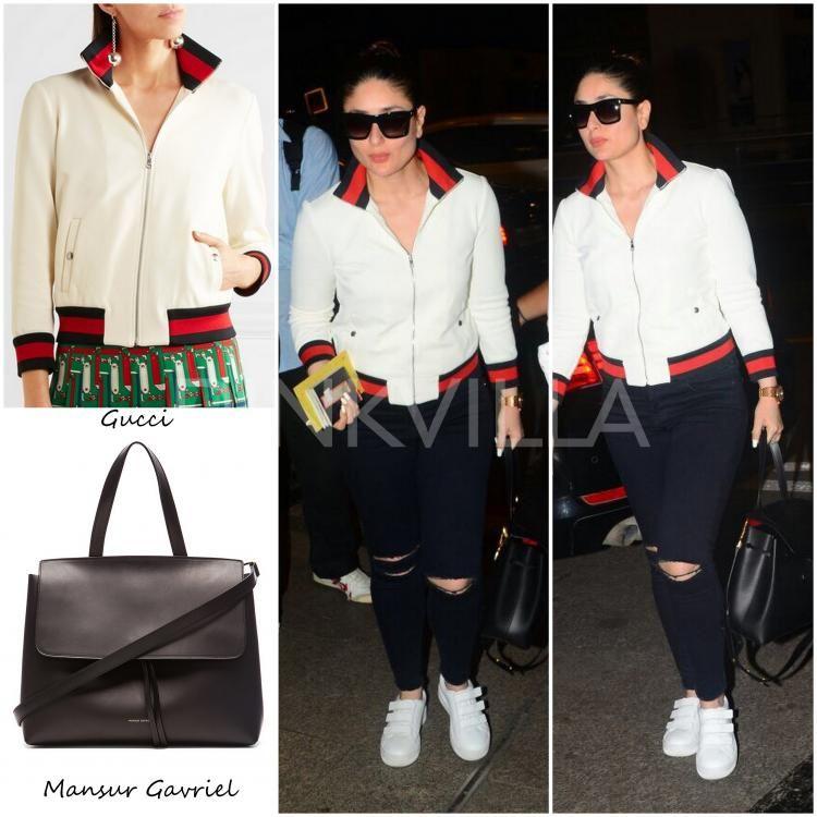 0268c9b5699 Airport Style   Kareena Kapoor Khan in Gucci