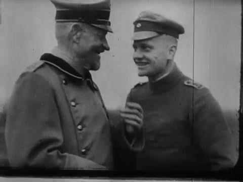 Manfred von Richthofen with hi...