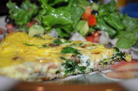 Dialed-In Nutrition: Bacon & Spinach Fritatta