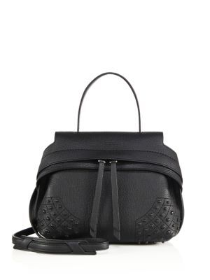 cce67795072 TOD S Wave Mini Gommini Leather Satchel.  tods  bags  shoulder bags  hand  bags  leather  satchel