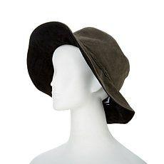 "Minnetonka ""Parker"" Floppy Suede Hat"