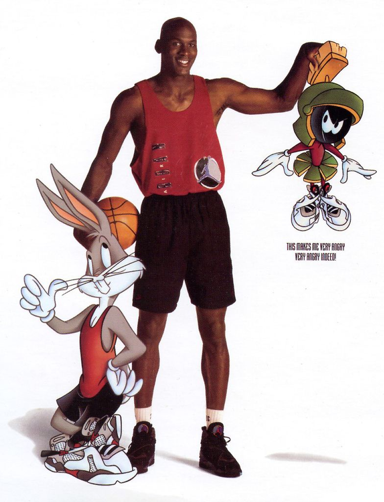 768ea3dc056bc8 Bugs Bunny Isn t the Only Cartoon Character with His Own Air Jordans ...