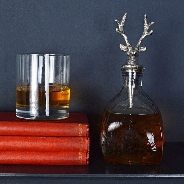 Stag whiskey decanter