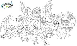 Dog Dragon Coloring Pages on a budget