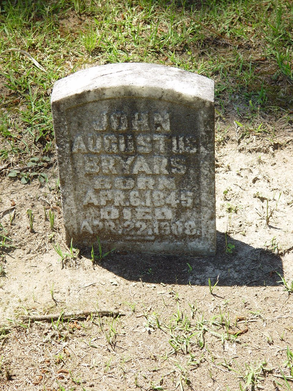 John Augustus Bryars (1845 - 1908) - Find A Grave Photos Co E 23rd Alabama Infantry.