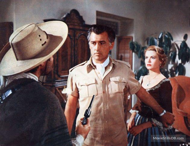 """Stewart Granger & Grace Kelly - """"Green Fire"""" (1954)"""
