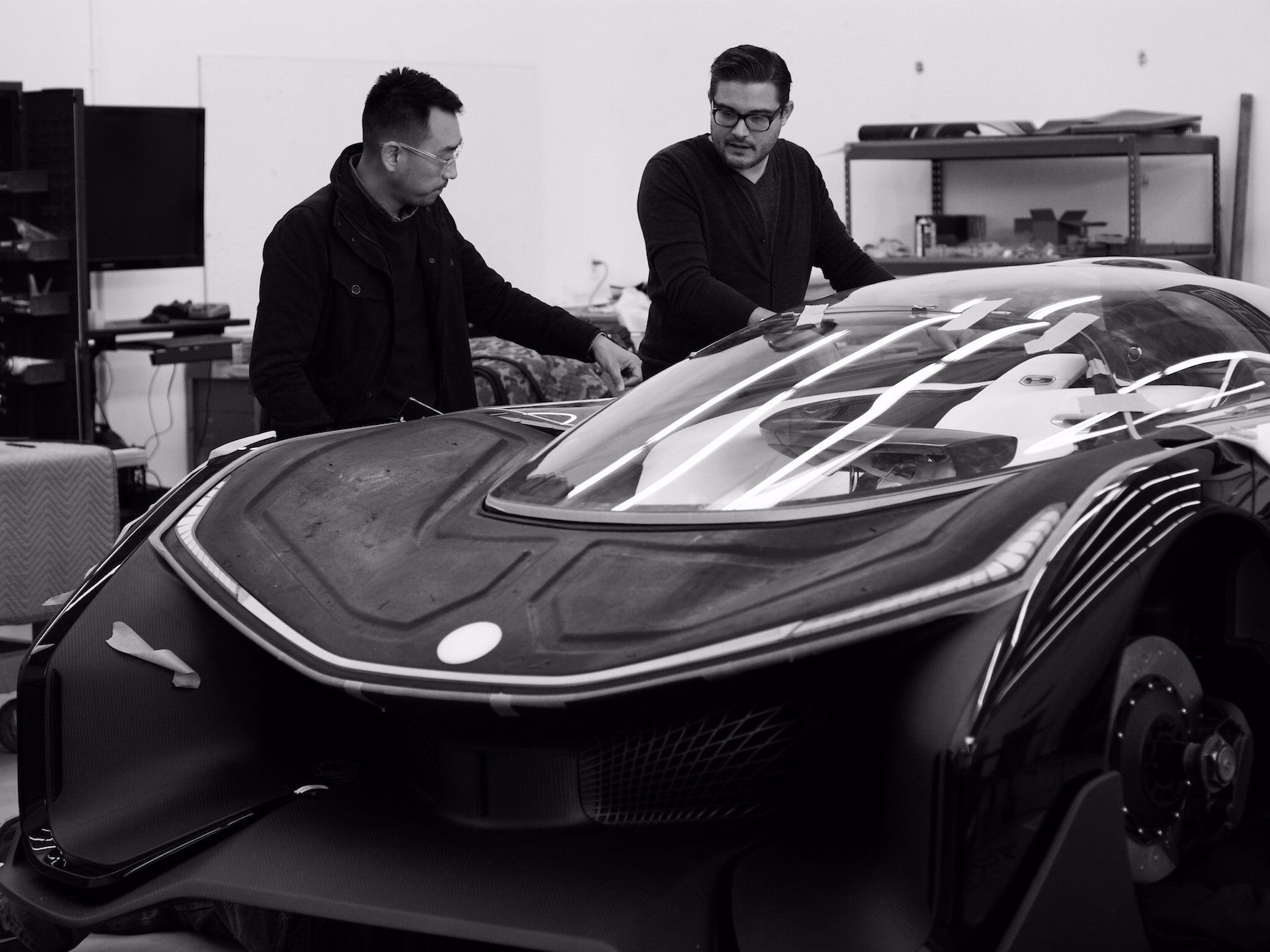 Tesla Rival Faraday Future Just Revealed Its Vision Of The Cars