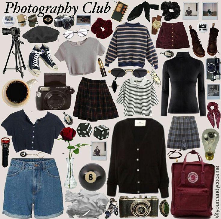 Grunge Vintage Aesthetic Clothing