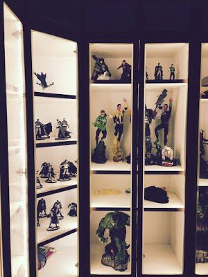 Action Figure LED Lighting Display Cabinet Corner Display Cabinet, Display  Cabinets, Toy Display,